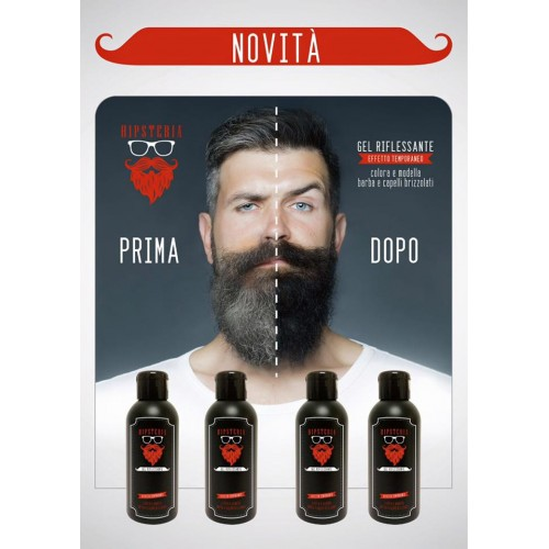 best selling various colors united kingdom Hipsteria Gel Riflessante - 125 ml - Prodotti Per Barba ...