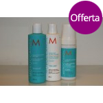 Moroccanoil Kit Ricci Fini - Shampoo Extra Volume 250 ml + Conditioner Extra Volume 250 ml + Curl Control Mousse 150 ml